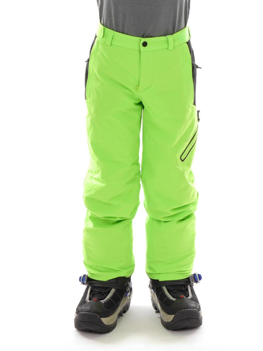 O´Neill Pantaloni da Sci e da Snowboard Junior Jones verde Neon Riciclato 2