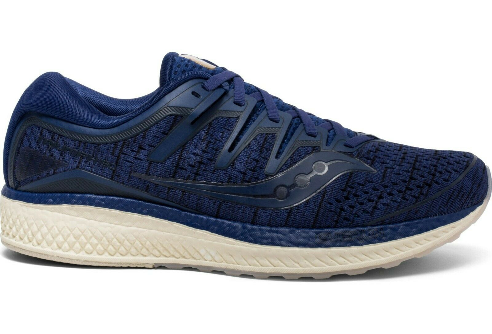 Saucony S20462-41 Triumph ISO 5 Navy Shade Mens Neutral Running Trainers shoes
