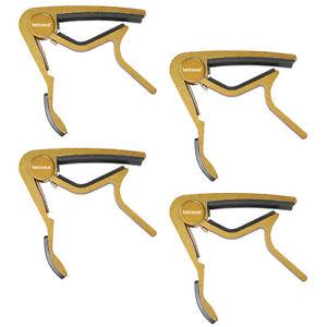 Neewer-Golden-Capo-de-changement-rapide-pour-electrique-ou-Acoustique-6-Cordes-Guitare-4-Pack