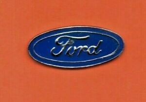 Pin-039-s-lapel-pin-pins-Car-Voiture-Logo-FORD-EAF-epoxy-base-argente-Signe