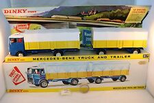 Dinky Toys 917 Mercedes Benz truck and trailer very near mint in MINT BOX SUPERB