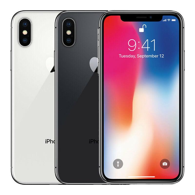 Apple iPhone X 64GB Factory...
