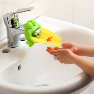 Bathroom Sink Faucet Chute Extender Children Kids Washing Hands Kids Water Chute