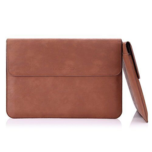 """13.3/"""" Laptop Sleeve Case PU Leather PC Notebook Cover Bag Briefcase for Macbook"""