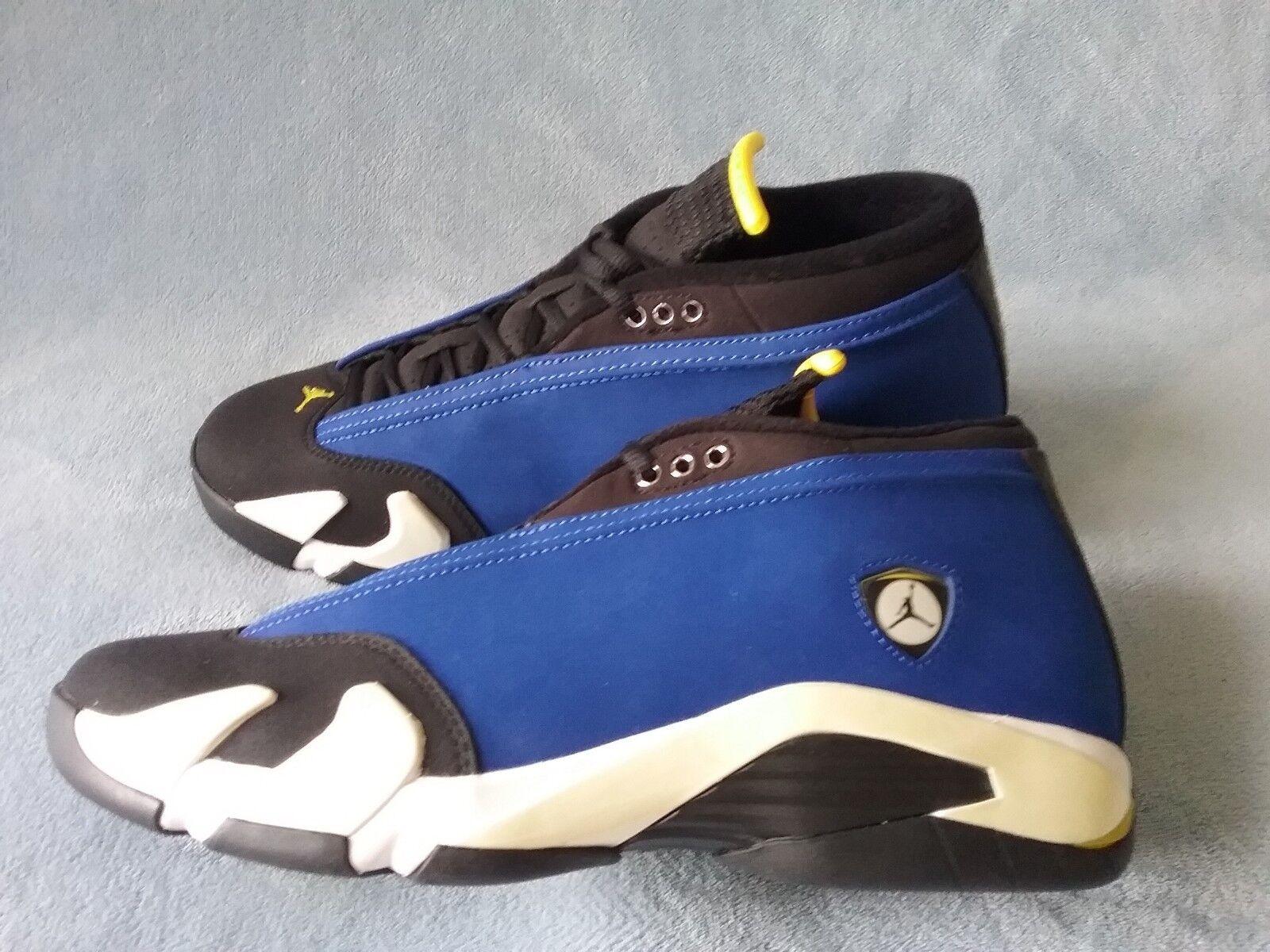 Nike Air Jordan 14 Retro Low  Laney  807511-405 Size 10.5