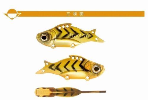 15g Spoon Lure Crankbait Fishing Bait Freshwater Saltwater Leure GT-BIO