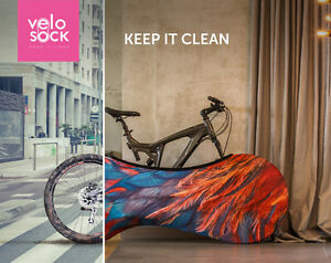 Velosock-Universal-indoor-bike-cover-Bicycle-storage-bag-cover