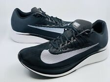 demostración eso es todo Suradam  Nike Zoom Fly Mens Running Shoes 12.5 Black White 880848 001 for sale  online | eBay