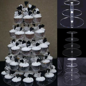 Image Is Loading Round 3 4 5 Tier Cake Display Stand