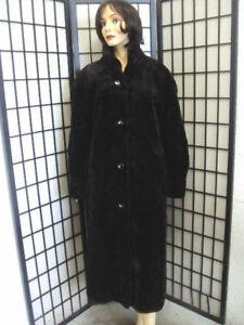 Pre-Owned Canadian Dark Ranch Mink Fur Jacket Coat Women Woman Size 4-6 Small
