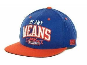 New DGK Dirty Ghetto Kids By Any Means Snapback Hat Supreme Obey