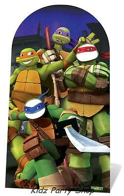 Ninja Turtles Party - Giant Cardboard Cutout Freestanding - Free Postage Uk