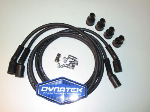 casquettes Kawasaki DYNATEK DW600 Noir 4 CYLINDRE ALLUMAGE mène Utiliser Avec Dyna Coils,