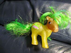 Vintage 1983 Hasbro G1 My Little Pony Sparkle Pony Napper Glitter