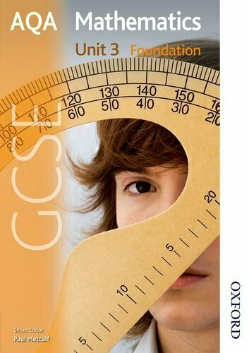 New AQA GCSE Mathematics Unit 3 Foundation New Gc... by Hewlett, Gill Paperback