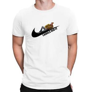 Carole Baskin DID IT T-Shirt Joe Exotic Funny Sports Tiger King Ladies Mens Tee