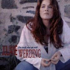 """JULIANE WERDING """"SIE WEISS WAS SIE WILL"""" CD NEUWARE"""
