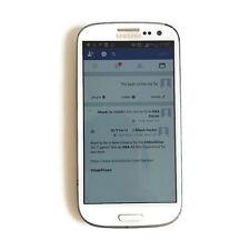 "Samsung Galaxy III S3 I9300 Smartphone 4.8"" Unlocked 16GB White 8MP Android"