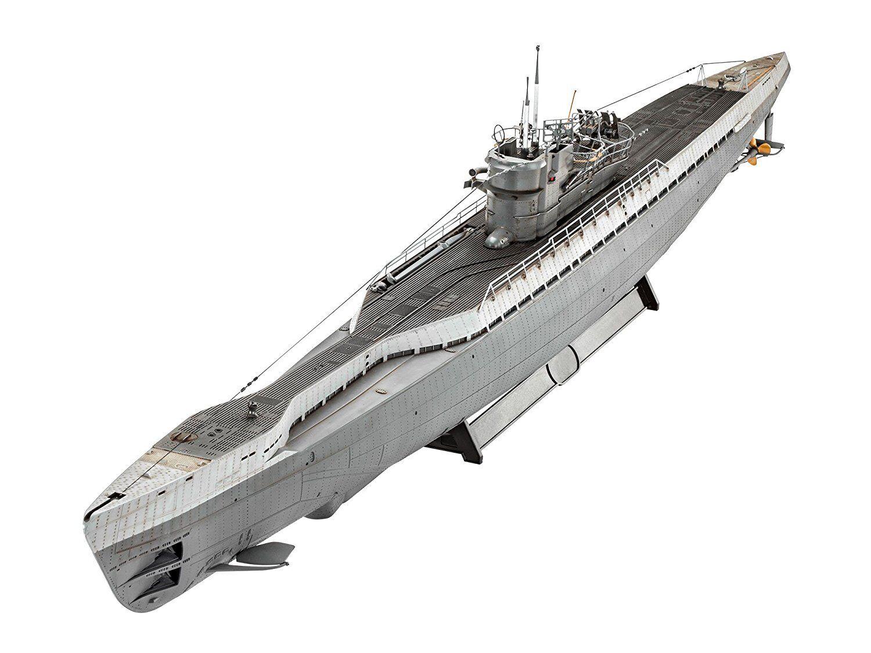 German Submarine TYPE IX C 40 Model Kit Revell