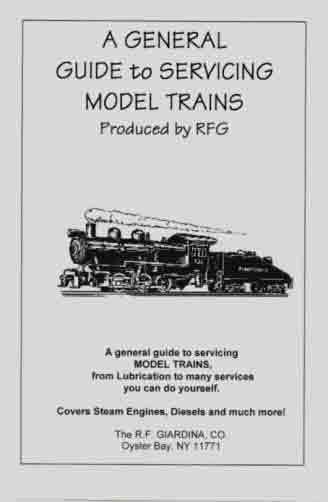 A GENERAL GUIDE to SERVICING MODEL TRAINS Booklet All G