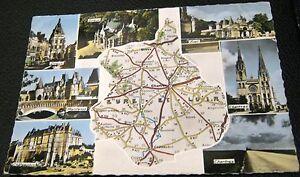 France-L-039-Eure-et-Loir-Map-28-000-01-La-Cigogne-used-1964
