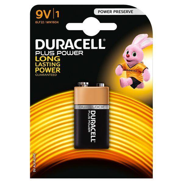 Duracell Pile Alcaline Transistor 9V 1PZ MN1604