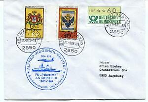 1983 Polarstern Do-228 Alfred Wegener Institut Bremerhaven Polar Antarctic Cover Garantie 100%
