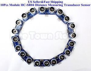 10Pcs-Ultrasonic-Module-HC-SR04-Distance-Measuring-Transducer-Sensor-for-Arduino