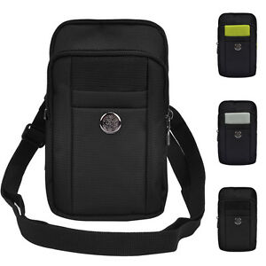 Travel Shoulder Bag Belt Clip Waist Phone Pouch For Samsung Galaxy Note 9/Note 8
