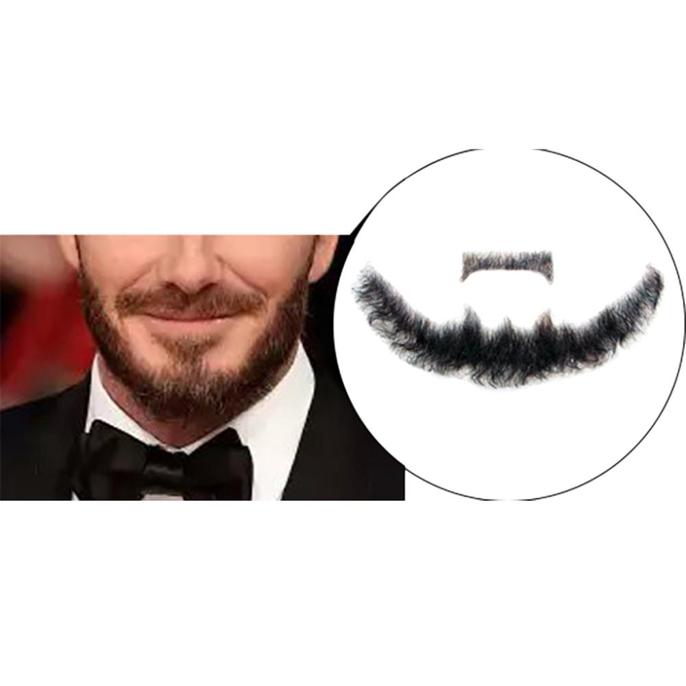 Beard Man Mustache Word Simulation of 100/% Human Hair Makeup Disguise Tools