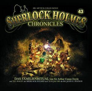 SHERLOCK-HOLMES-CHRONICLES-FOLGE-43-DAS-FAMILIENRITUAL-CD-NEU