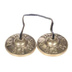 2-6in-6-5cm-Handcrafted-Tibetan-Meditation-Tingsha-Cymbal-Bell-Lucky-Symbols-Hot