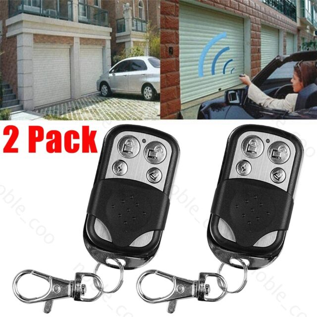 Button Remote Control 433MHZ Cloning Universal Replacement Garage Door Car-Gate☃