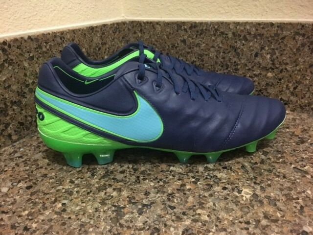 quality design c287d 45a41 Nike Tiempo Legend VI Fg Kangaroo Leather Soccer Cleats 819177-443 Sz 6,  7.5-8.5