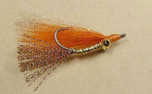 CHILLI PEPPER taille #6 Bonefish Saltwater Flies