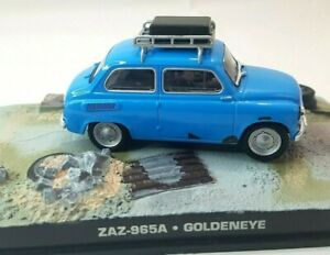 James-Bond-007-coche-coleccion-BMW-965A-coche-Goldeneye-Die-Cast-Escala-1-43-Azul