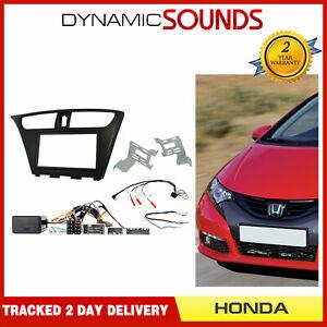 CTKHD06L-Autoradio-Double-Din-Kit-de-Fixation-Facade-LHD-pour-Honda-Civic-2012-gt