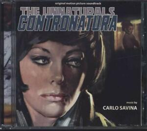 The Unnaturals - Contronatura (Carlo Savina) - Cd - Digitmovies - Nuovo