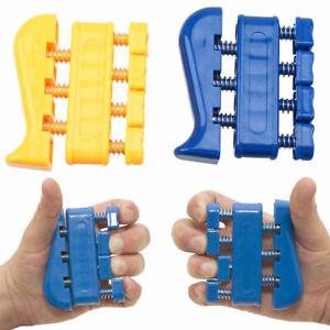 Finger Strength Exerciser Trainer Strengthener Grip Resistance BandTension EF