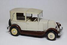 ELIGOR 1:43 AUTO DIE CAST RENAULT NN 1927 TORPEDO DECOUVERT BEIGE ART 1041