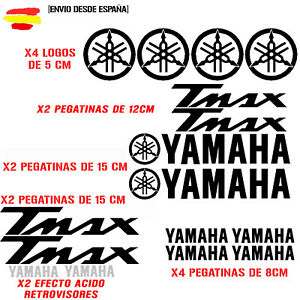 PEGATINA-VINILO-ADHESIVO-YAMAHA-MOTO-TMAX-STICKER-DECAL-KIT-DE-16-unds-t-max