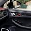 Carbon Fiber Inner Side Door Panel Stripe Frame Cover Trim für Porsche Macan A09