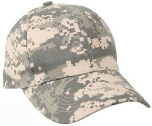 7cb6fa51d0aea Kids Low Profile Cap US Army ACU Digital Camo Ballcap Hat Rothco 9607