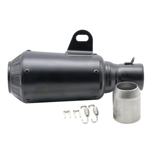 36-51mm Exhaust Muffler Tuyau Silencieux d/'Échappement en Acier Inox de