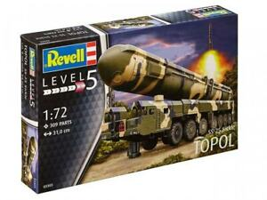 Revell-1-72-Topol-SS-25-Sickle-Missile-Model-Kit