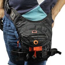 Mens Nylon Waist Leg Bag Tactical Military Motorcycle Riding Belt Bum Fanny Pack