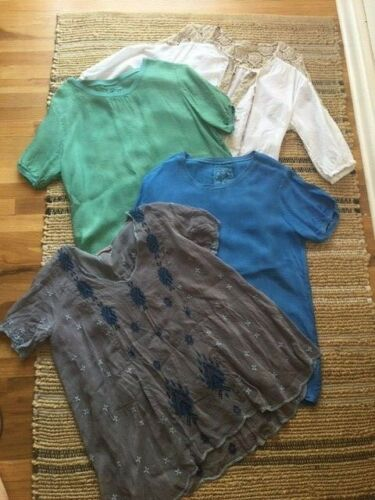 Johnny Was Lot, 3 tops (XS and S), 1 free people t