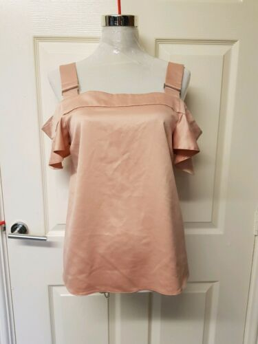 Red With Herring Shoulder Cold 10 Debenhams Top Tags New Size Blouse Brand 1qwnWSZax