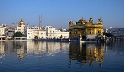 HARMANDIR SAHIB GLOSSY POSTER PICTURE PHOTO india darbar golden temple sikh 1185