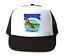 Trucker Hat Cap Foam Mesh Fish Muskie Fishing Wildlife Animals